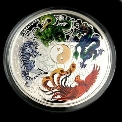 Perth Mint_Chinese Ancient Mythical Creatures 2014 5oz Silver Proof Coin