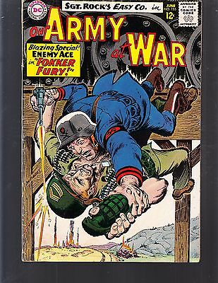 Our Army At War #155 1965 Dc -3Rd App Enemy Ace Fn/fn- Sgt. Rock Easy Co.