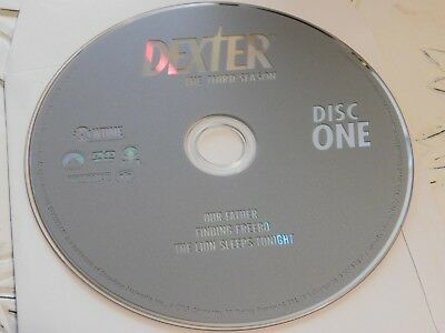 Dexter Third Season 3 Disc 1 DVD Disc Only 43-137
