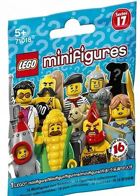LEGO Minifigures SERIES 17 - CHOOSE YOUR FIGURE - NEW - 71018