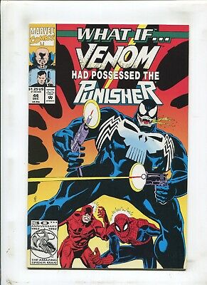 "What If? #44 - ""venom Had Possessed The Punisher!"" - (9.2) 1992"