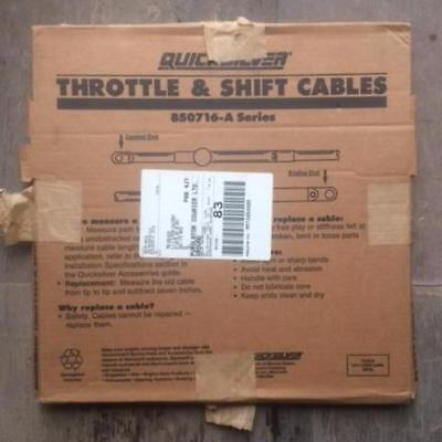 Mercury / C5 Control Cable 16ft 850716A16