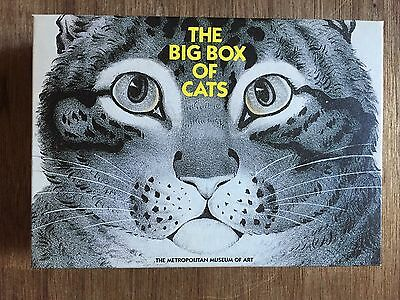 Vintage Metropolitan Museum of Art The Big Box of Cats 48 notecards & envelopes