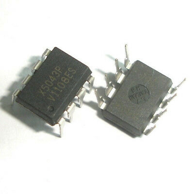10 Pcs X5043P DIP-8 X5043 CPU Supervisor with 4K SPI Eeprom