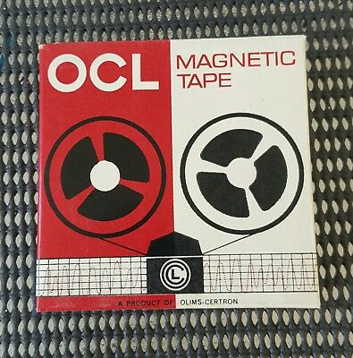 OCL magnetic tape  Blank Reel to Reel 3 inch Tapes lot of three