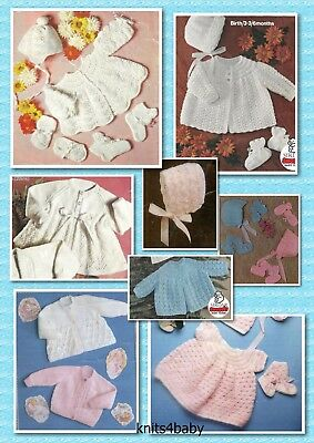 150+ Vintage PATTERNS ~ Popular Selection of BABY KNITTING & CROCHET PATTERN
