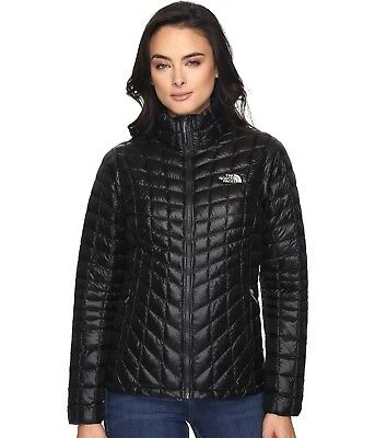 NWT The North Face Women's Black Thermoball Full Zip Puffer Jacket S,M,L,XL