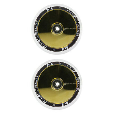 Root Industries Air Scooter Wheel Set 110mm White/Gold Rush
