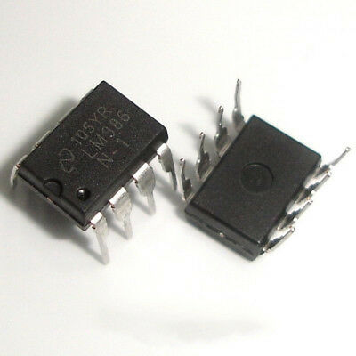200 Pcs LM386N DIP LM386 Audio Power Amplifier IC