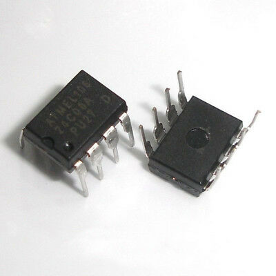 100 Pcs AT24C08A-10PU-2.7 DIP8 AT24C08 24C08A 24C08 AT24C08N 2Wire Serial EEPROM
