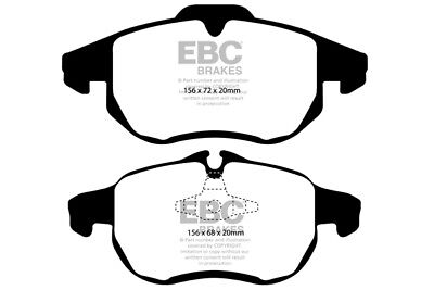 EBC Yellowstuff Front Brake Pads for Opel Signum 3.2 -31068238 (2003 > 04)