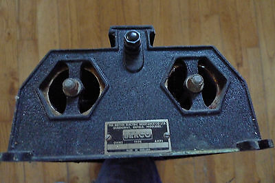 Rheostat Berco British Electric Resistance Vintage Lab Apparatus  Twin Coil DE