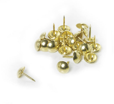 20 x Upholstery Nails Brassed Nails For Upholstering By Solstuds