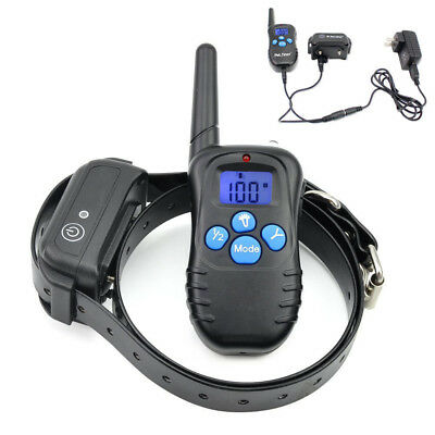 Pet trainer Rechargeable Waterproof Dog Training Collar Electric Remote E-Collar