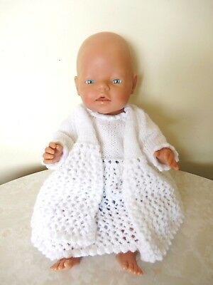 Zapf Creations Max Zapf Baby Born Doll 96472 Roedental Crochet Outfit 42 Cm