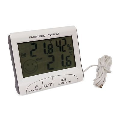 Digital LCD Thermometer Hygrometer Humidity Meter Room Indoor Temperature