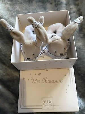 Mes Chaussons Bn In Box Baby Slippers 0-3 Months