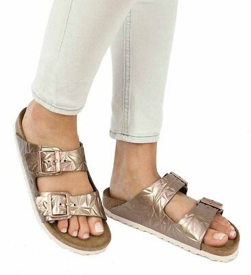 a935059a4f4c Birkenstock Sandals ARIZONA Spectral Copper leather narrow Soft Footbed NEW