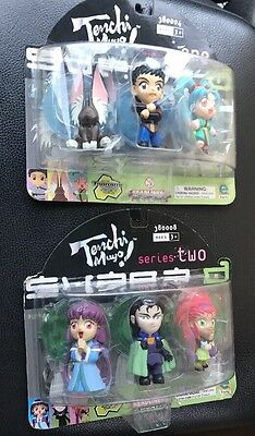 TENCHI MUYO Headliners Action Figures Series 1 & 2 Brand New Sealed Package Rare