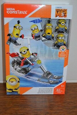 Mega Construx     Minions Despicable Me 3     Wild Waterski Bike       FFJ33