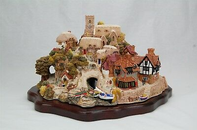 Lilliput Cove St. Peter's Cove Signed Base Certificate of Authenticity with Box