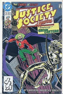 Justice Society of America #3 (Jun 1991, DC), VF/NM