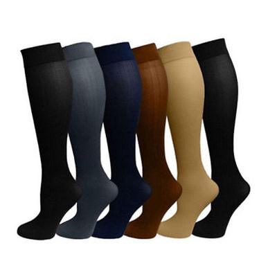 Elastic Knee Leg Stocking Varicose Vein Support Running Sports Compression Sock