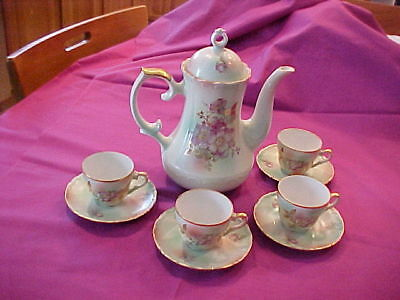 house of goebel chocolate set. never used. bavaria west germany.