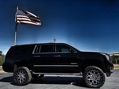 "2016 GMC Yukon DENALI XL CUSTOM LIFTED 22"" XD DENALI XL*CUSTOM*LIFTED*22"" XD 2-PIECE CHOPSTICKS*35"" NITTOS*WE FINANCE*FLA"