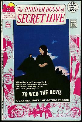 The Sinister House of Love #2 1972- Gothic Terror- Jeff Jones NM-