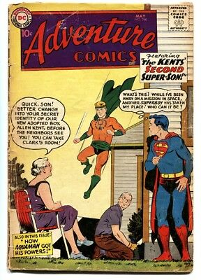 Adventure Comics #260 comic book First Silver Age Aquaman origin issue
