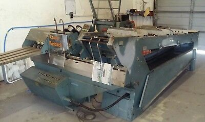 Rosback 203 Collator Stitcher 3 Knife Trimmer System