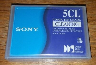 Sony 5CL DDS and DAT Cleaning Cartridge NEW SEALED NOS
