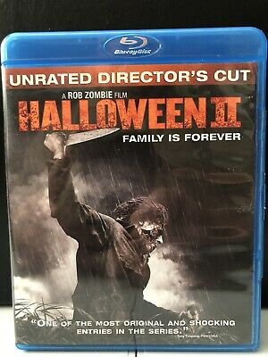Halloween II (Blu-ray Disc, 2010, Unrated)-Horror