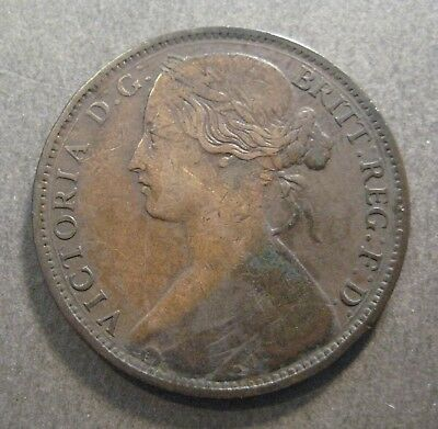 1862 Great Britain Penny  - * No Reserve * - (P401)