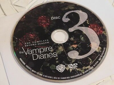 Vampire Diaries Second Season 2 Disc 3 DVD Disc Only 44-143