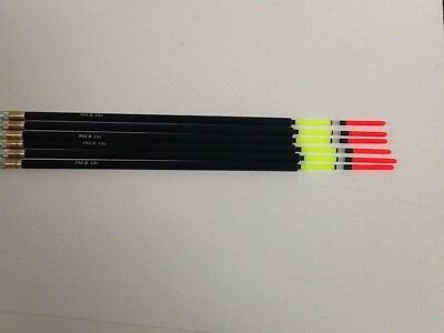 """Match Waggler Floats, Loaded, Fluorescent Red Antenna, """"Wagglers"""" 3.0 g. Waggler"""