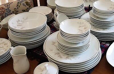 94 piece Noritake Dinner Set Mint Condition – Never Used
