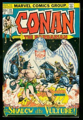 Conan The Barbarian #22 1973-Marvel Comics Fn