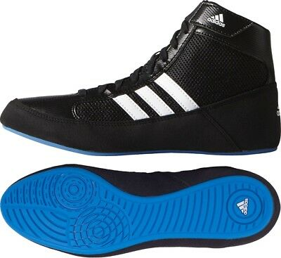 adidas Havoc Junior Wrestling Shoes - Black