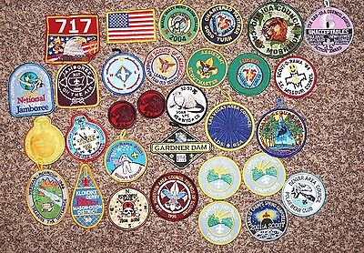 LOT of (31) Vintage BSA Boy Scouts of America Patches