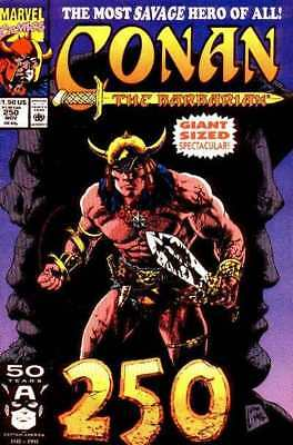 Conan the Barbarian (1970 series) #250 in Near Mint - condition. FREE bag/board