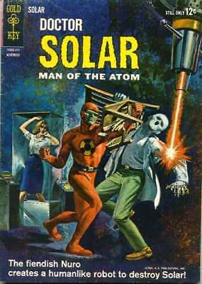 Doctor Solar: Man of the Atom (1962 series) #6 in Very Good - condition