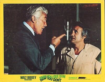 Now You See Him Now You Don't 1972 11x14 Lobby Card #nn