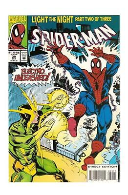 Spider-Man #39 (Oct 1993, Marvel) Electro NM