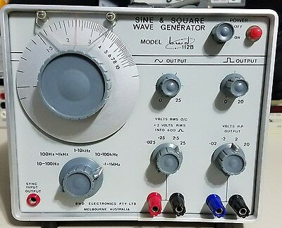 BWD 112B Sine and Square Wave Generator
