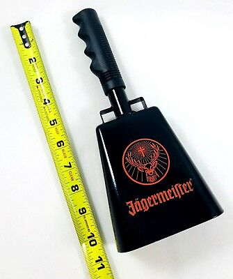 """Large 11"""" Jagermeister  Loud Gameday Cowbell For Cheering / Noise Making - New!!"""