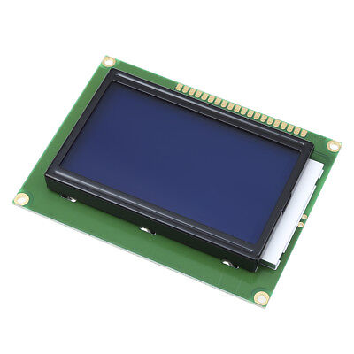 5V 12864 ST7920 LCD Parallel Serial LCM Display Module Graphic Screen Backlight