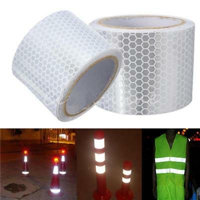 Car Reflective Strip Stickers Warning Strip-style Film Safe Motorcycle NEW #