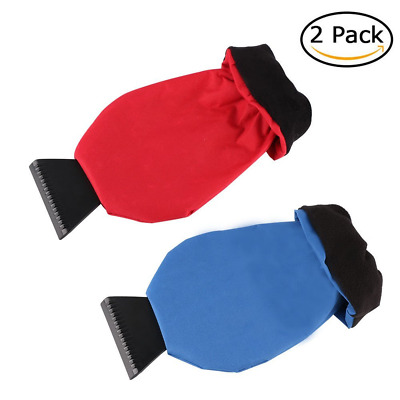Ice Scraper Mitt for Car Windshield, Lenmumu Window Snow Scrapers Tool with Wate